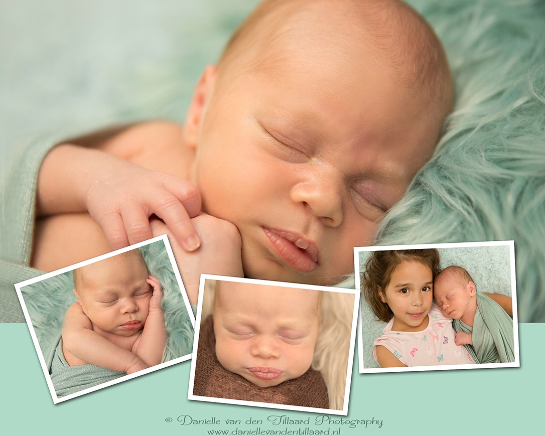 Newborn fotoshoot Tilburg