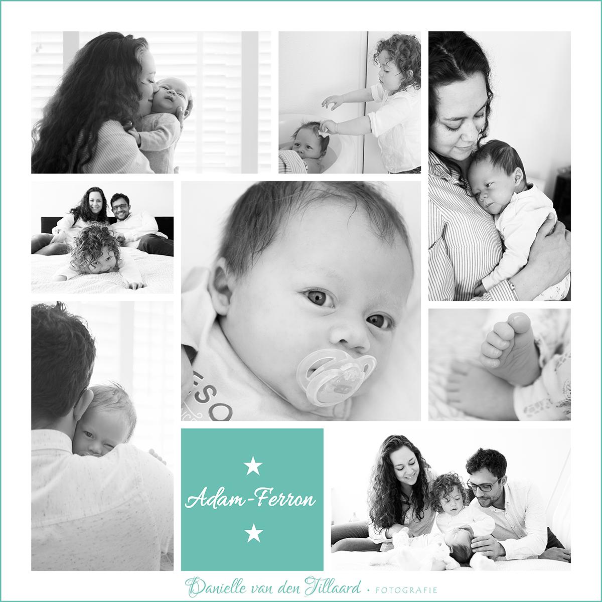Newborn lifestyle fotografie tilburg 1