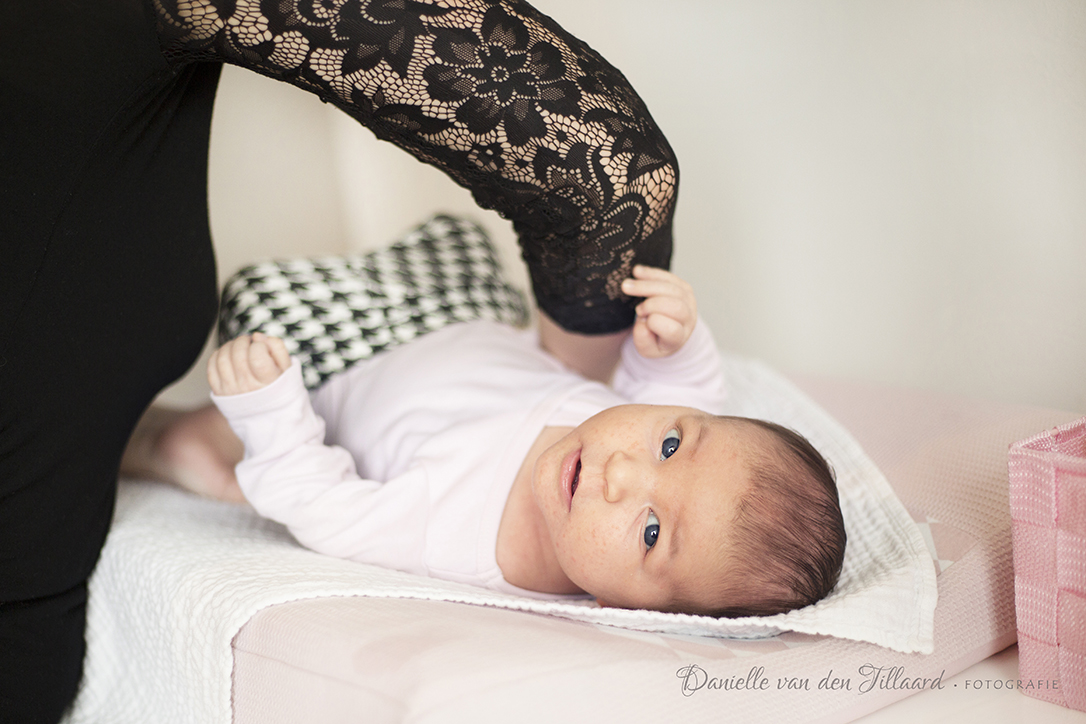 Newborn Lifestyle Fotoshoot Tilburg