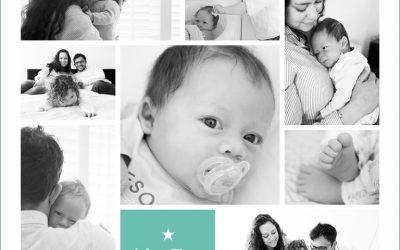 Newborn lifestyle reportage